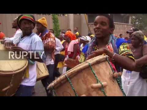 Honduras: Protesters march in memory of slain indigenous activist