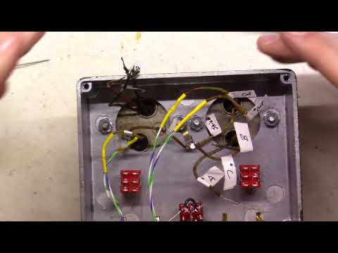 Building a Step Up Transformer for Moving Coil Cartridges MC - SUT Series Part 3