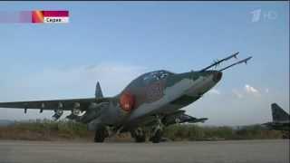 Авиабаза ВВС России в Сирии  Какие самолеты РФ применяет в Сирии