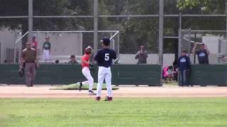 Giants - Fall Baseball 2018 - Highlights - Ryan Solley (#9)