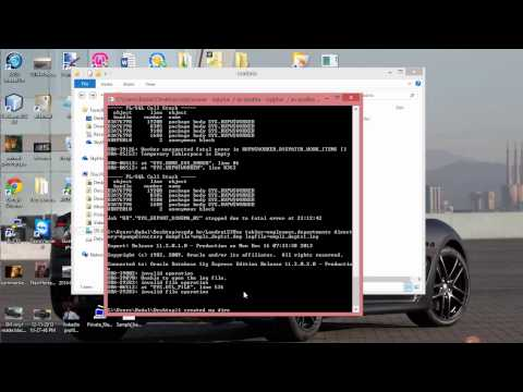 Solving ORA 29283 invalid file operation error