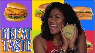 The Best Fast-Food Chicken Sandwich | Great Taste