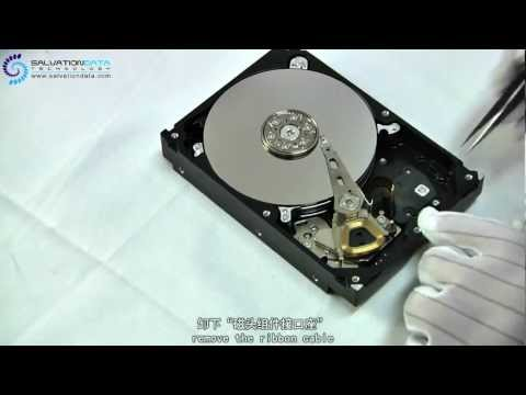 Seagate 7200.11 1TB Hard Drive's HEAD replacement?  The EASIST&QUICKEST way to do it.