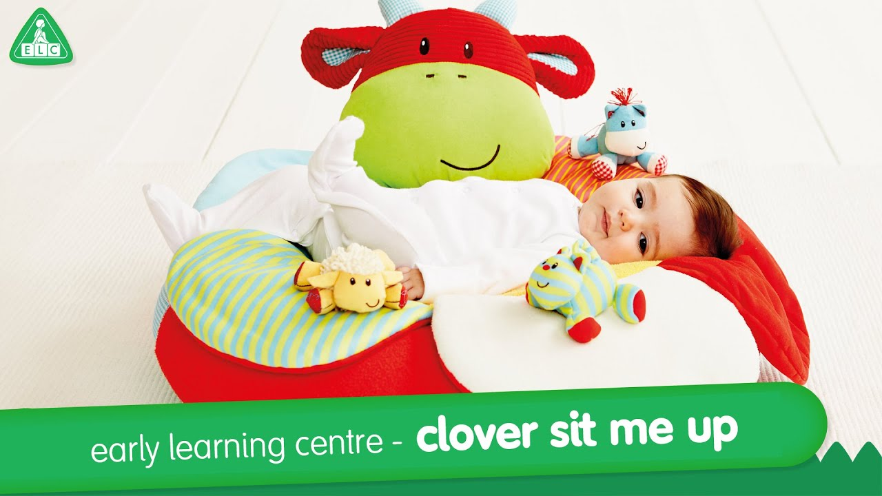 Early Learning Centre Clover Sit Me Up - YouTube