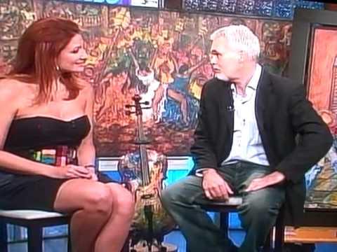 Pintor Cubano Humberto Benitez entrevista con Mariana Rodriguez Telemundo 51