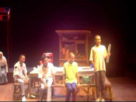 "Blind Teater ""Republik Angkringan"" Teater Tunanetra"