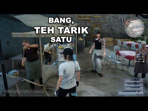 Final Fantasy XV — Malaysian culture in Lestallum