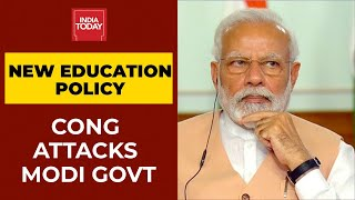 New Education Policy 2020: Congress's Veiled Attack On PM Modi Over Education Policy