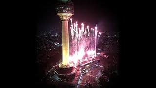 [4K] South Korea. Daegu Christmastime Fireworks 2020.12.25