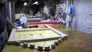 Upholstery How to Build A  Headboard  Part 1.mov