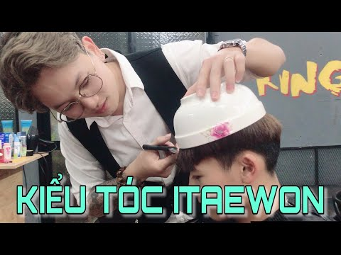 Cắt tạo kiểu tóc đẹp trai hơn PARK SEO JOON trong ITAEWON CLASS | Troll Siêu Lầy | KINGU TV