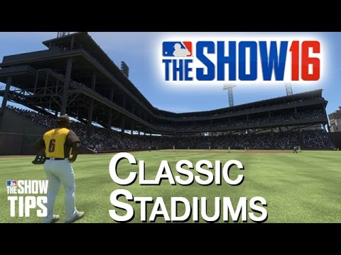 MLB The Show 16 - Classic Stadiums tour