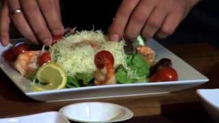 КУШАТЬ ПОДАНО 28 09 2013 в Гранд Кафе! Готовим салат с тигровыми креветками