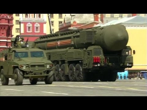 Russia parades nukes