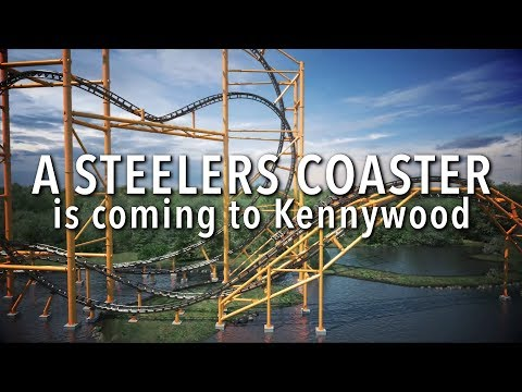 New Pittsburgh Steelers roller coaster to open at Kennywood