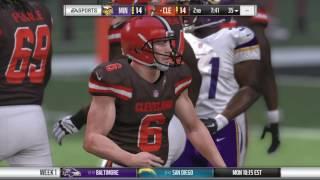 Madden NFL 17 gameplay Slider testing