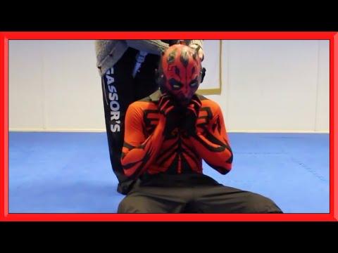 Darth Maul Training Gag Reel (Ginger Ninja Trickster)