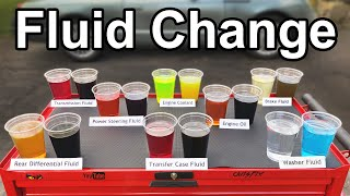 Download How to Change EVERY FLUID in your Car or Truck (Oil, Transmission, Coolant, Brake, and More) Mp3 and Videos