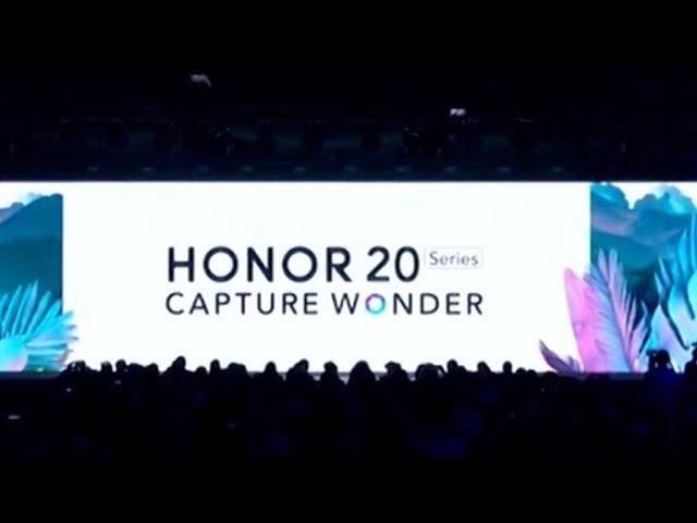 Huawei launches Honor 20 series in London