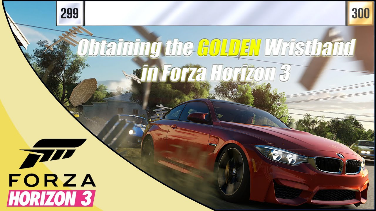 obtaining the gold wristband level portrait in forza. Black Bedroom Furniture Sets. Home Design Ideas