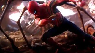 Avengers Infinity War Spiderman Fight Scene