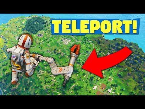 VERRÜCKTER TELEPORT GLITCH! | Fortnite Battle Royale