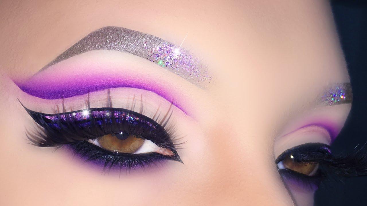 Purple Witch Eye Makeup Tutorial