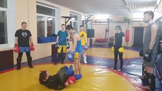 Урок тайского бокса N12 Высекание опорной ноги под удар