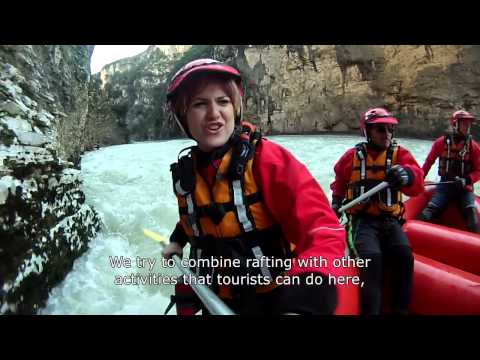 Rafting Group Attracts Tourists to Albania