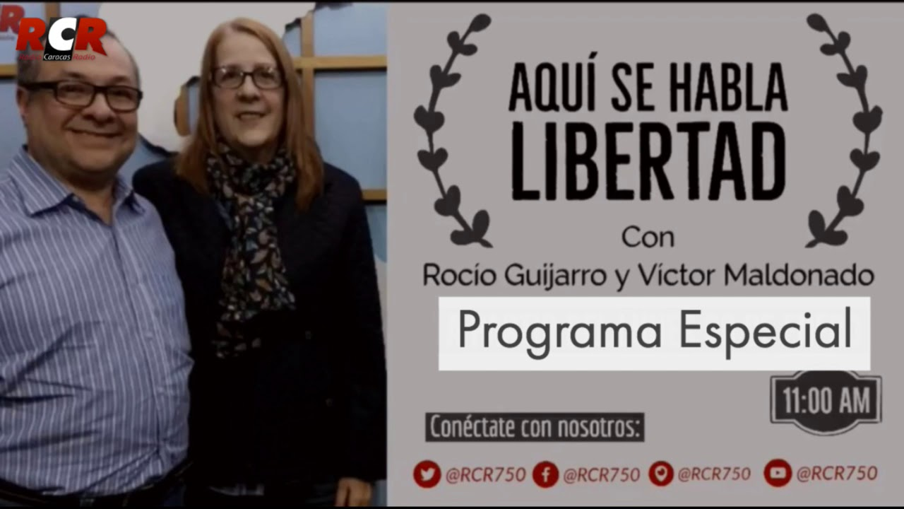 Aqui Se Habla Libertad con Victor Maldonado @vjmc y Rocio Guijarro @rociotata con Erik Del Bufalo @ekbufalo de Invitado