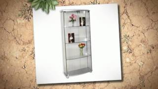 Maximize Your Corner Space - Glass Display Cabinet