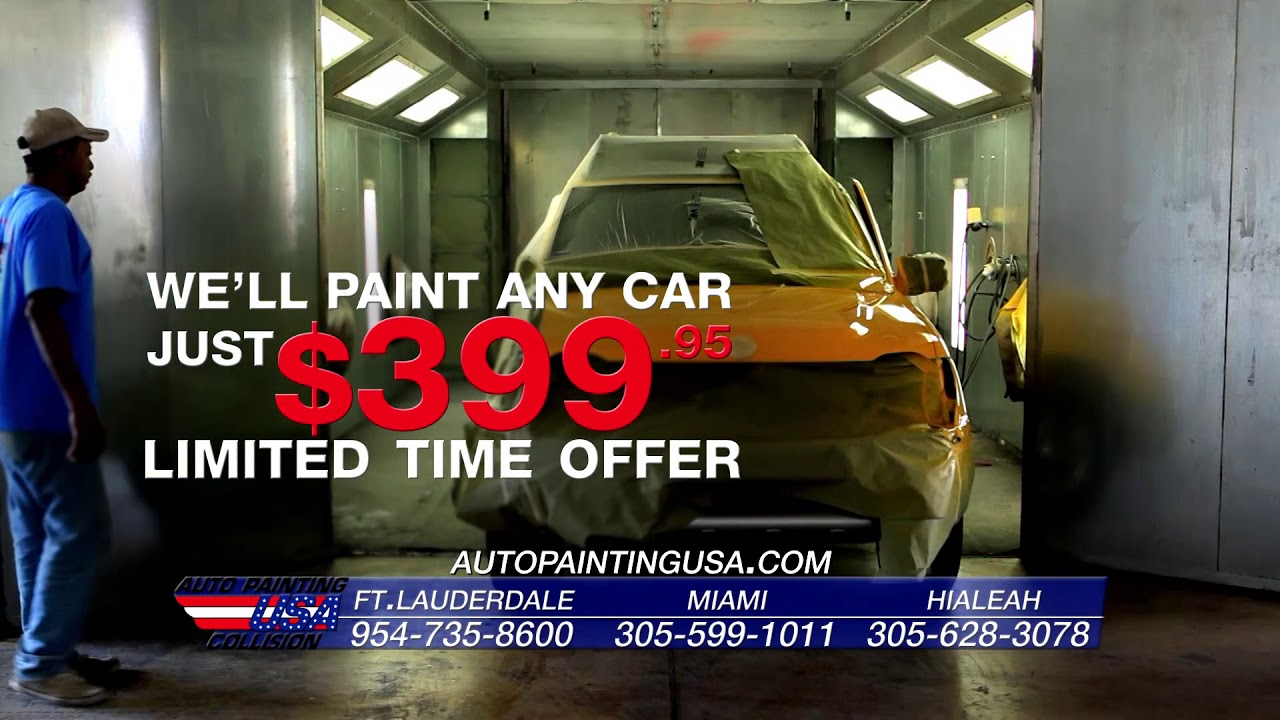 Welcome To Auto Painting Usa Collision Youtube