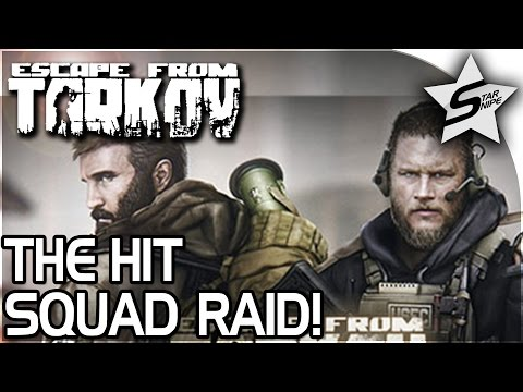 The HIT SQUAD, Online FACTORY RAID!! - Escape From Tarkov Alpha Gameplay Part 2