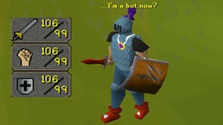 The Easiest Way to Get 99s on RuneScape is to be Hacked.