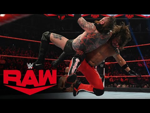 Aleister Black vs. AJ Styles: Raw, March 2, 2020