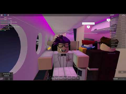 [ROBLOX] Onboard LeMonde! Goodbye Queen B747!