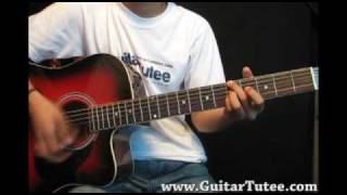 Jason Mraz - You And I Both, by www.GuitarTutee.com