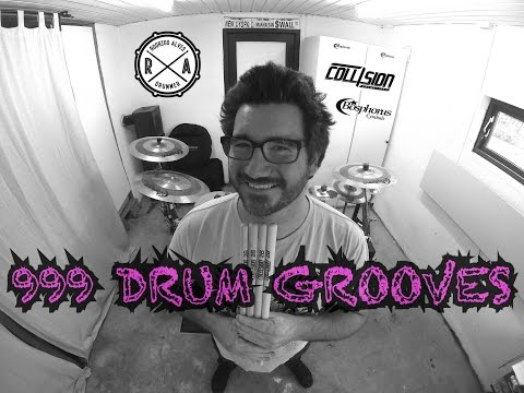 DRUM GROOVE 036 -   Laid-Back Shuffle Groove