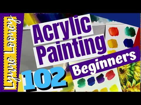 Acrylic Painting for Beginners: Cleaning and Care for Acrylic Paint Brushes