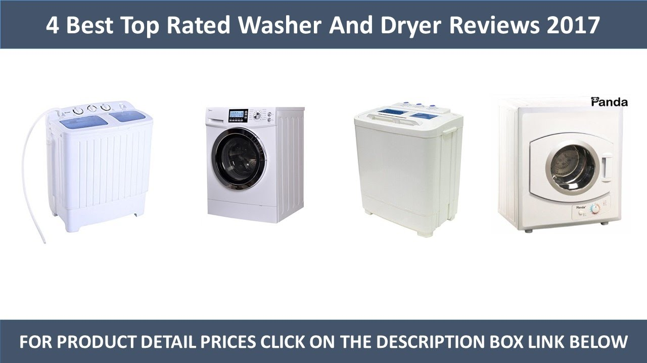 4 Best Top Rated Washers And Dryer Review 2017 Top Rated Washer