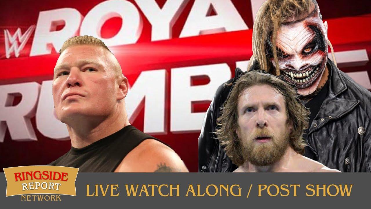🔴🤼 WWE Royal Rumble 2020 Watch Along & Live Reactions 🤼