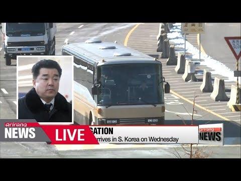 [LIVE/ARIRANG NEWS] North Korea's 280 member delegation of cheerleaders...