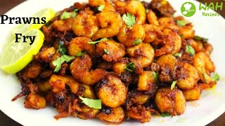 Prawns Fry | Yummy Prawns fry for Side dish