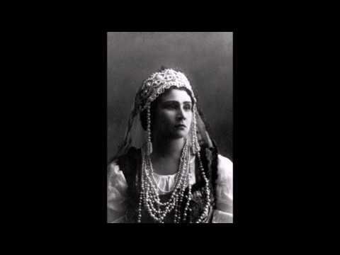 Надежда Обухова - выдающаяся русская mezzo-soprano 20-го века. Часть 1