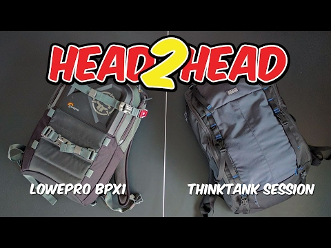 LowePro BPX1 vs ThinkThank Session FPV Review