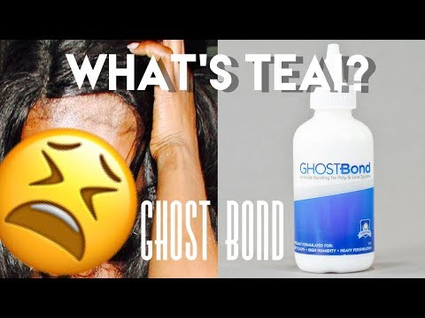 WHAT'S TEA ON GHOST BOND?? | POPULAR LACE ADHESIVE