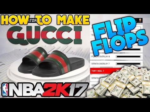 59f2bce65ec8 How To Make Gucci Flip Flops - NBA 2K16 EXCLUSIVE Park Clothes