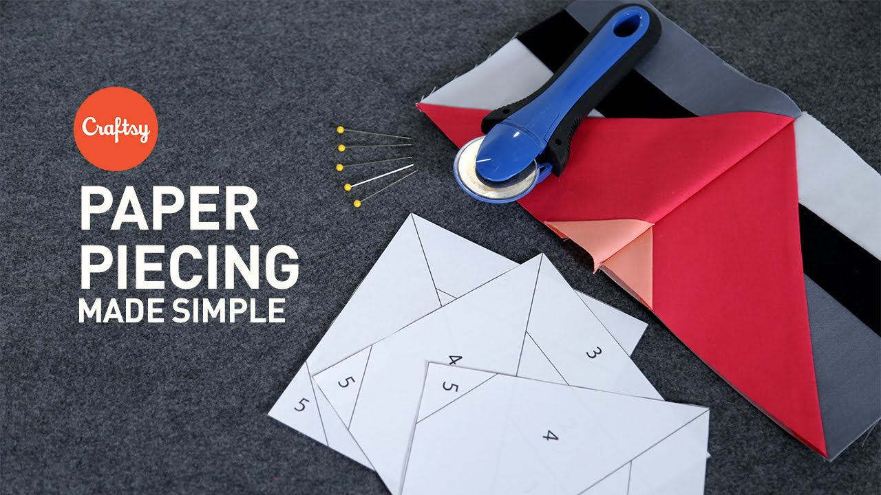 Paper Piecing Made Simple Quilting Tutorial With Angela Walters