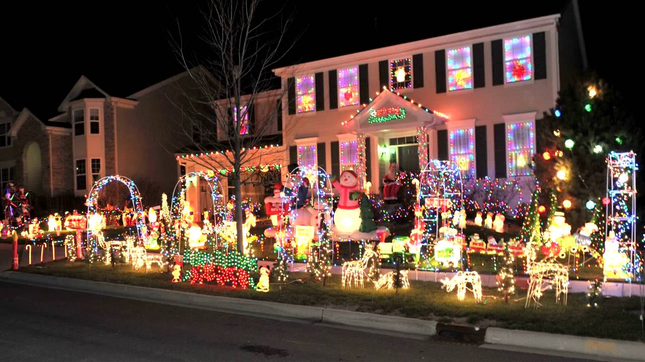 Marvelous Chicagou0027s Very Own Brian Hurley: Christmas Lights Extended Version   YouTube