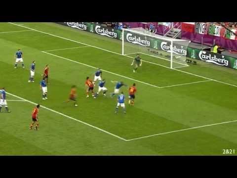 Daniele De Rossi VS. Spain - EURO 2012 [HD]